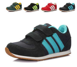 Wholesale Children Sport Shoes Boys Sneakers and Girls Athletic Shoes Running Shoes For Kids Size
