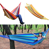 Cotten Outdoor Furniture Yes Swing Hanging Chair Outdoor 380G M2 Canvas Garden Hammock 270261-270262 New