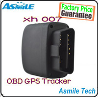 Gps Tracker Gps Tracker,Two Way Other 2014 New High Quality OBD GPRS GSM GPS Tracker xh007 car gps tracking system 2pcs free shipping