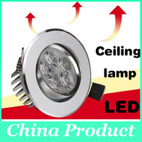 Wholesale 2014 Cree LED ceiling light high power LED recessed ceiling spot light down light lamp downlight AC85 V W W W W W W W