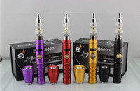 Wholesale super vapor electronic cigarette E6000 dry herb vapor pen EK E6000 for dry herb or oil with LED display light