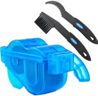 Wholesale Bicycle Chain Cleaner Cycling Bike Brushes Machine Scrubber Wash Tool Kit Clean Box Mountain Road