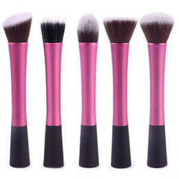 Wholesale 5 Set Concealer Brushes Dense Powder Blush Brush Cosmetic Makeup Tool Dropshipping Retail SKU M0307