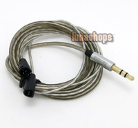 Wholesale 110cm N OFC Headset Earphone upgrade cable For Sennheiser IE8 IE80 Earphone
