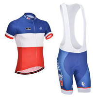 Wholesale FDJ cycling jerseys bicycle wear shorts and cycling suit bike clothing