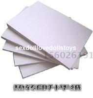 Wholesale Heat transfer sublimation paper sublimation paper A4 Thermal transfer paper sublimation paper non cotton hat mouse pad ceramic metal