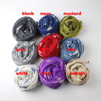 Wholesale 2014 Latest Fashion Cute Dog Pattern Dachshund Cotton Voile Scarf Animal Scarf Shawls colors