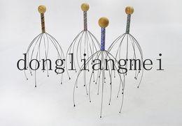 Wholesale 100pc Fashion Head Neck Scalp Massage Massager Equipment Stress Relax neck massager nerve endings scalp Z21