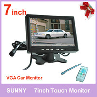 Wholesale Hot Sale inch Headrest Stand LCD Touchscreen VGA Monitor