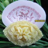Wholesale eye shaped flower Arylic Resin Flower silicone mold fondant molds sugar craft tools chocolate mould soap candle molds for cakes