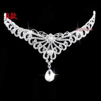 Fascinators Rhinestone/Crystal  Fabulous Greek Goddess Silver Hair Korean Alloy Crown Accessories Bridal Crystal Wedding Party Tiaras