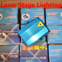 Wholesale 150MW Mini Stage Laser Lights Projectors Starry Sky Red Green LED RG For Indoor Music Disco DJ Party Christmas Show Light Projector