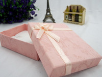 Wholesale Assorted Color Paper Fashion Jewelry Box Gift box Rectangle Package Box cm for Bracelet Necklace Jewelry Boxes