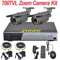 best night vision security camera - Cheap best cctv system ch cctv kit zoom lens ir night vision cctv security surveillance camera CH D1 DVR network digital video recorder