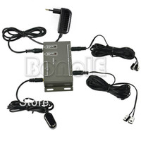 Wholesale Promotions Infrared Remote Extender Emitter Receiver Adapter Hidden IR Repeater System Kit TK0148
