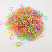 8-11 Years Multicolor Silicone Glow in the Dark Rainbow Loom Bands for Rainbow Loom Wristbands DIY Mix Color 500 bags lot (600 pcs bands+24 pcs S-clips)