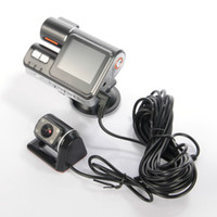 Wholesale X2 P Camera LCD Dual Lens Car Video Recorder Vehicle Car DVR Night Version with Retail Box
