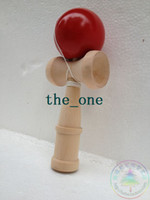Wholesale 11 Colors CM Kendama Ball Japanese Traditional Wood Game Toy Education Gifts Hot Sale children toy baby gift EMS FREE