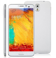 GSM850 Thai Android New Cheap 5.5 inch N9000 Note 3 NOTE 3 N9006 Android 4.2.9 SC6820 Smart Phone Dual Core Dual Sim card Dual Camera With Flip Case