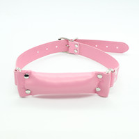 Wholesale Leather stick mouth gag Two colours Bondage gear Adult products