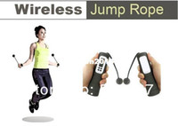 Wholesale Wireless Rope less Diet Jump Jumping Rope Skipping Calorie Counter Exercise
