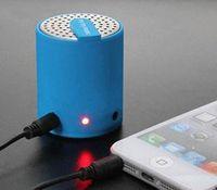 Wholesale DHL Portable wireless car beatbox bluetooth speaker mobile phone music speakers bluetooth speakerphone microphone stereo speaker