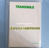 Wholesale Heat transfer sublimation paper Thermal transfer paper Heat transfer sublimation paper A3 TRANSMAX genuine thermal transfer paper l