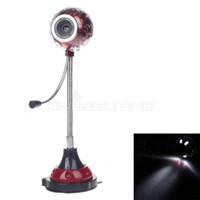 3 Mega 640x480 USB 3.0 MP USB Digital Computer Web Camera w Microphone 4 -LED Night Vision Lights - Red #1700313