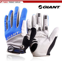 Wholesale low price arrival full gloves Top quality Giant Cycling Gloves Moutain Bike Bicycle full Finger Gloves Colors Size M L XL