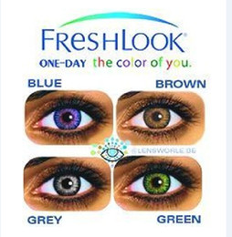 Wholesale pairs Freshlook Color Contact Lenses Tones Crazy Lens make up your eyes Make up your eye more Beautiful