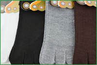 Wholesale Mens Low Cut Five Toe Socks For Vibram Five Finger Shoes Cotton men s socks tube socks