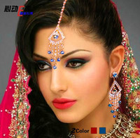 Wholesale Egypt Belly Dance Indian Bridal Jewellery Set BOLLYWOOD DAZZLING WEDDING Dancing Party Accessories JEWELRY