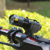 Wholesale New CREE Q5 LED Cycling Bike Bicycle Front Head Light With Mount Led Flashlight