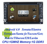 1 DIN Special In-Dash DVD Player 3.5 Inch HOT3D UI android 4.0 CAR DVD WITH GPS FOR HYUNDAI universal sonata elantra terracan santa fe tucson getz matrix i20 lavita tibur