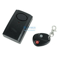 Wholesale 6Pcs Wireless Remote Control Vibration Alarm for Door Window Drop Shipping