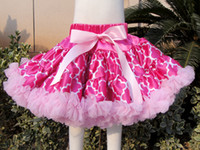 baby girl dressess - Top grade lace Baby Girls tutu Dress skirt floral printing skirts girls s short dress Gauze dressess Ballet skirt girls princess skirts