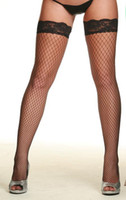 Wholesale Sexy Net Fishnet Thigh High female nylon Stocking Color LC7905