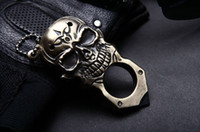 Wholesale Skull Outdoor Self defense Weapon Necklace Supplies Agents EDC Tool