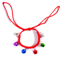 Wholesale Pet bell rope small dogs and cats neck ornaments bell bell collar type necklace listed cats