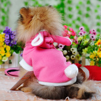 Wholesale Tony rabbit small kiosks installed Metamorphosis fall and winter clothes Teddy pet dog puppy clothes VIP shipping
