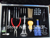 Wholesale change belt tools repair watch tools set stainless steel HIGT QUALITY watches repair tools