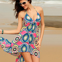 Wholesale Buy Unique Summer Beach Seaside Tourist Must bulk Yarn Wrap Skirt Swimwear V20634S