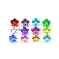 Wholesale Color Random Mixed Origami Owl Flower Birthstone Floating Charm Fit Floating Locket mm W03156 X