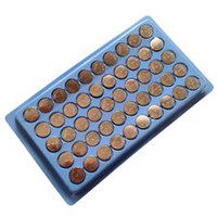 Wholesale 50pcs x AG13 LR44 SR44 LR1154 L1154 A76 Button Cell Battery