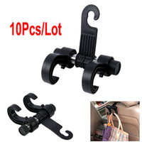 Wholesale 10pcs Black Multifunction Car Auto Bags Organizer Seat Bag Hook Accessories Hanger Holder