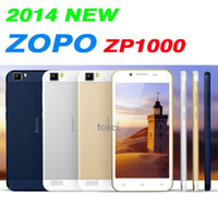 5.0 Android 1G ZOPO ZP1000 Ultrathin Smartphone 5.0 Inch HD IPS Screen MTK6592 Octa Core Android 4.2 OTG 1GB 16GB 3G WIFI GPS Dual SIM Cards