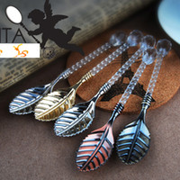 Wholesale HOT Sale Classic MINI Coffee Stirring Spoon Party Favors Tea Spoon Retro Tableware SH498