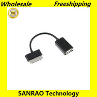 Wholesale Hot USB HOST OTG CABLE CONNECTION KIT FOR SAMSUNG GALAXY TAB P7500 P7300