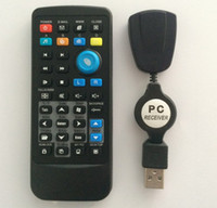 Wholesale 100PCS DHL Free USB PC Remote Controls Control for PC Laptop Computer XP Vista Win7 AC02 with the retail package