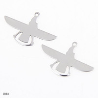 European Beads aeroplane charms - Great Sale Stainless Steel Aeroplane Charms Fit DIY Chain Jewelry Craft Making ZDK3